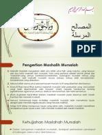 9. Mashalih Mursalah