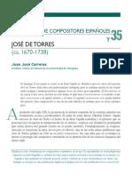 Jose de Torres Biografia