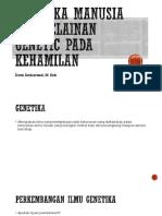 Genetika manusia dan kelainan genetic pada kehamilan.pptx