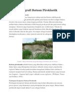 Petrografi Batuan Piroklastik