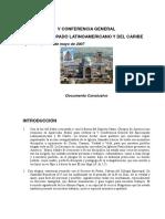 Aparecida Documento Conclusivo Celam - 31 de mayo de 2007
