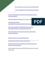 Bibliografia Completa Sobre La Cultura Organizacional