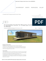 A Complete Guide to Shipping Container Houses in Kenya. #UJENZIBORA