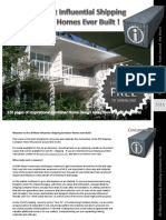 Preview 30 Shipping Container Homes 120 Page eBook