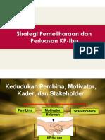 Sesi 8 Strategi Pemeliharaan Dan Perluasan KP-Ibu