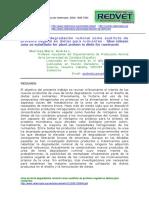 Urea de Lenta Degradación Ruminal Como Sustituto de Proteica