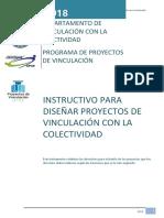 Instructivo 2018 Proyectos Vcc f