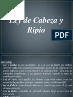Tratamiento de Minerales_ley de Cabeza y Ripio