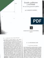 "- Bobbio, Norberto (1998), ""La Sociedad Civil"""