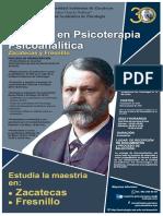 Maestria en Psicoterapia Psicoanalitica