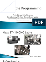 Cnc Lathe Programming