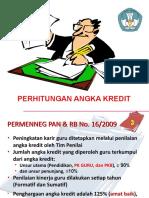 Penilaian Angka Kredit Guru