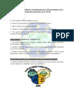 Tarjeta Convalidación y Homologación GM División Interamericana en La ANCH