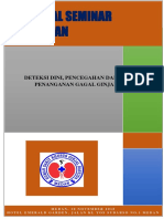 Proposal Deteksi Dini, Penanganan Dan Pencegahan Gagal Ginjal
