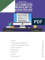 MANUAL - Certificação de Produto de Conteúdo Para Web
