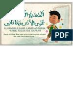 Doa Kamar Mandi .SizeA3
