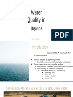 water quality in