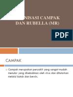 Imunisasi Campak Dan Rubella (Mr)