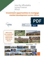 HOUSING MARKET ANALYSIS IN AFRICA