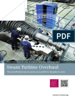 2 Steam Turbine Overhaul (2015)