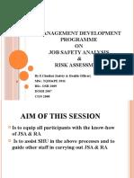 Job Safety Analysis & Risk Assessment