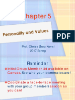 L3 Personality and Values s