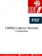 LSESU Labour Constitution