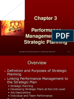 Chapter 3 - Performance Appraisal and Management