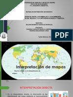 SIG (INTRODUCCIÓN -INTERPRETACIÓN, MAPAS CARTOGRÁFICOS, SIMBOLOGÍA-