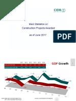 Construction Industry Statistic, Jun 2017