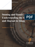 FINAL Stoning and Hand Cutting Understanding the Hudud and Shariah in Islam 1