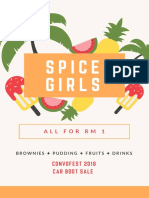 Shop Poster Spice Girls