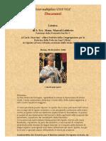 Lettera di Mons. Lefebvre al Card. Ottaviani
