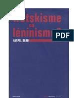 Trotskisme Ou Leninisme Harpal Brar