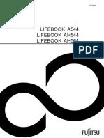 Fujitsu Lifebook A544 Manual