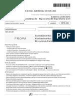 Fcc 2015 Tre-rr Analista-judiciario-Engenharia-civil Prova