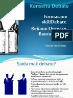 Skill Debating