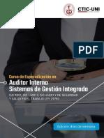 Ce Auditor Interno Sistemas de Gestin Integrada Ctic Uni