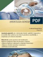 Anestezia generală