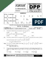 XI Maths DPP (30) - Prev Chaps + P_C