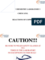 Reactions Copper Ppt