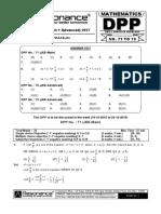 XI Maths DPP (29) - Prev Chaps + P_C