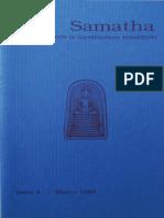 Samatha Journal  4 - Winter 1997