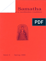 Samatha Journal  5 - Spring 1999