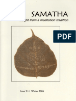 Samatha Journal 11 - Winter 2006