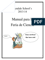 Lyndale Science Fair Handbook Elementary 2013-2014 - Spanish - 2