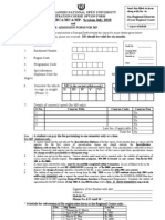 RR Form MP, BCA & MCA