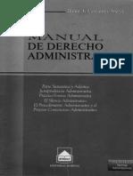 Manual de D° administrativo (Dante Cervantes A.)