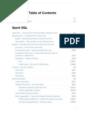 Mastering Apache Spark | Apache Spark | Information Technology