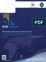 11th IFSB Summit Programme Book